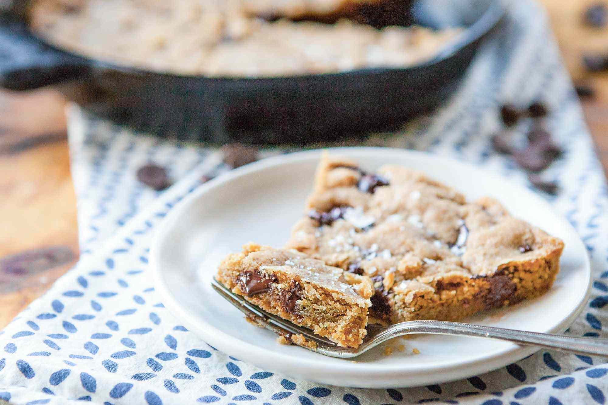 Cast Iron Skillet Chocolate Chip Cookie Recipe