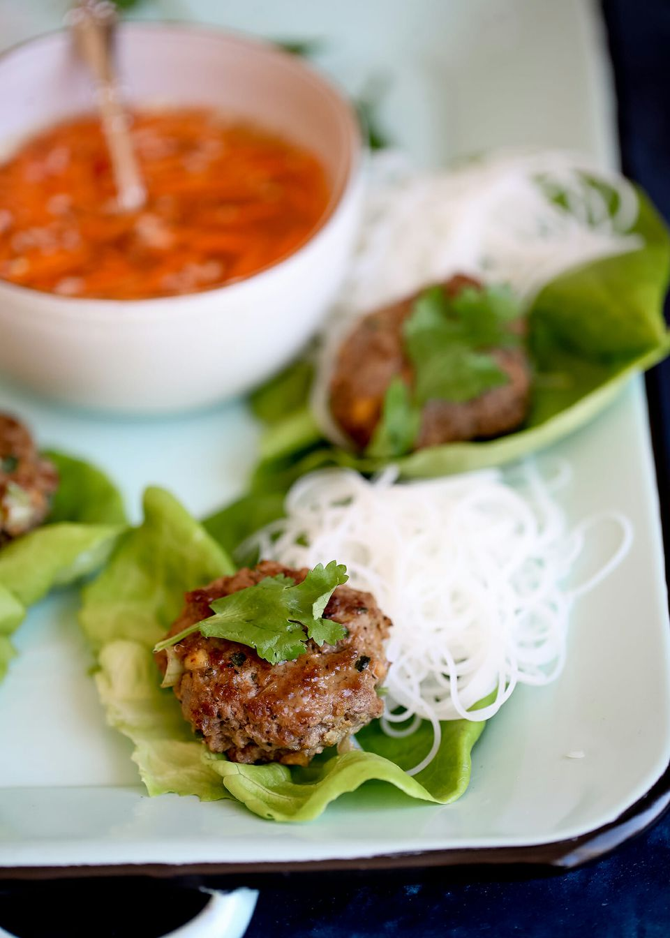 Lettuce Wraps with Beef
