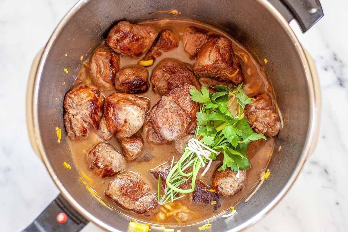 Lamb Stew Pressure Cooker - lamb stew