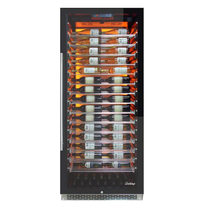 Vinotemp-EL-300COMM-88-Bottle-Capacity-Black-Wine-Chiller