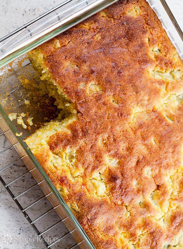 Green Chile Cornbread