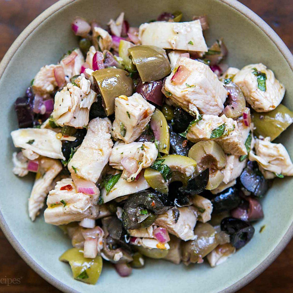 Chicken Salad Recipe Mediterranean