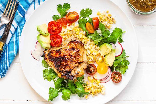 Grilled Chicken with Salsa Verde