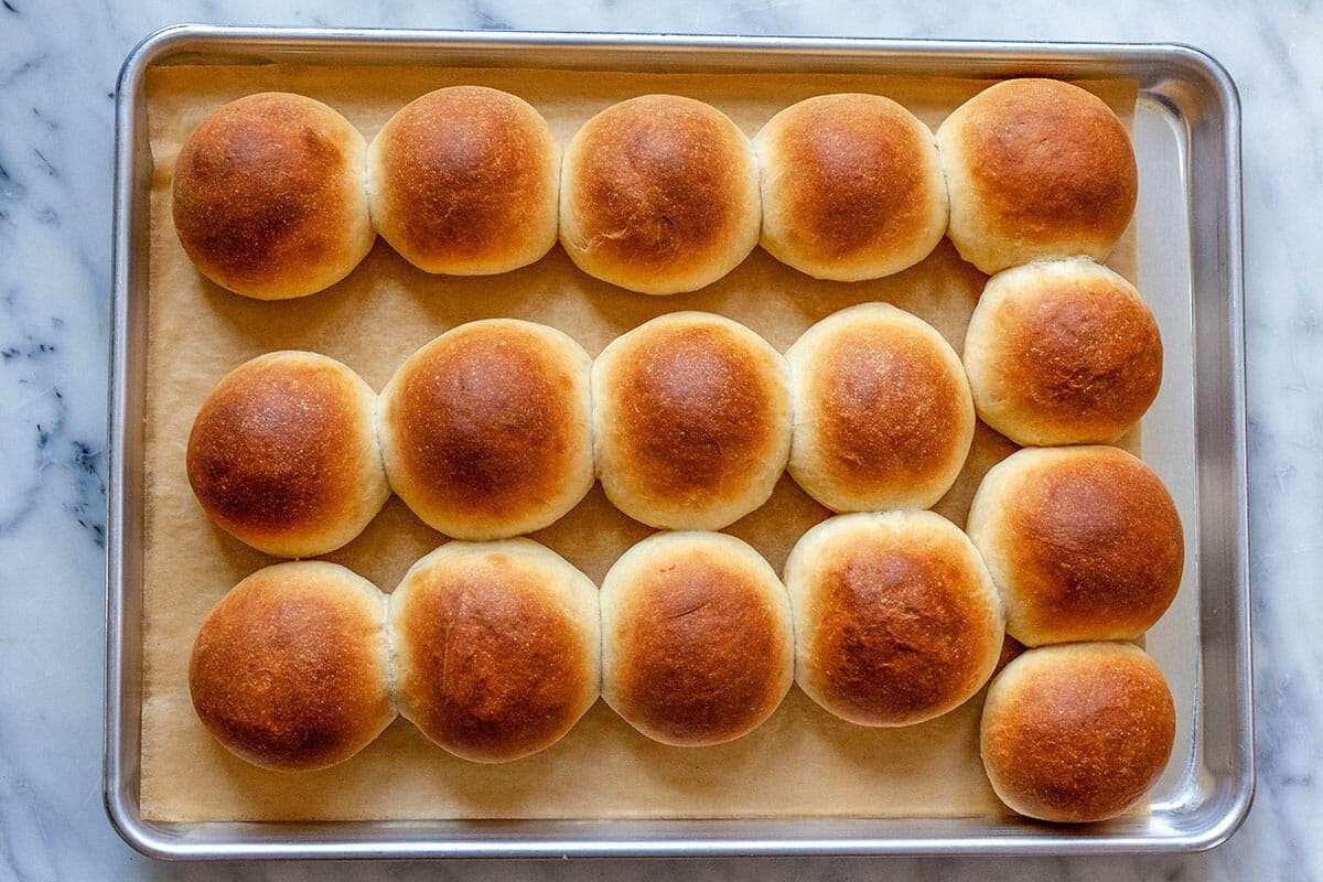 Freezer Rolls recipe bake the rolls