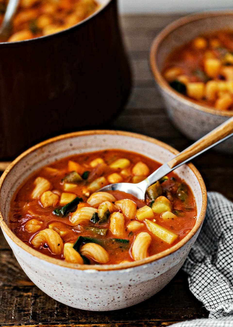 Minestrone with Chickpeas