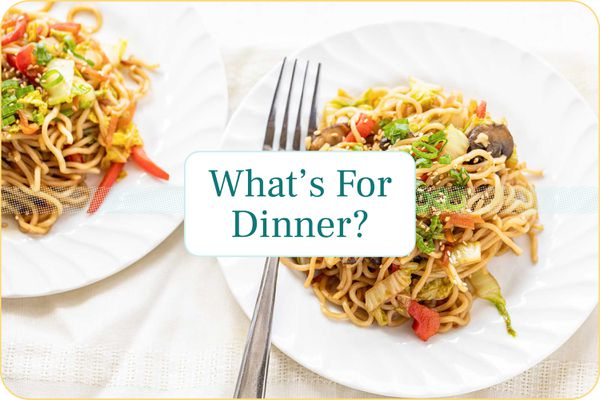 September Meal Plan Week 4