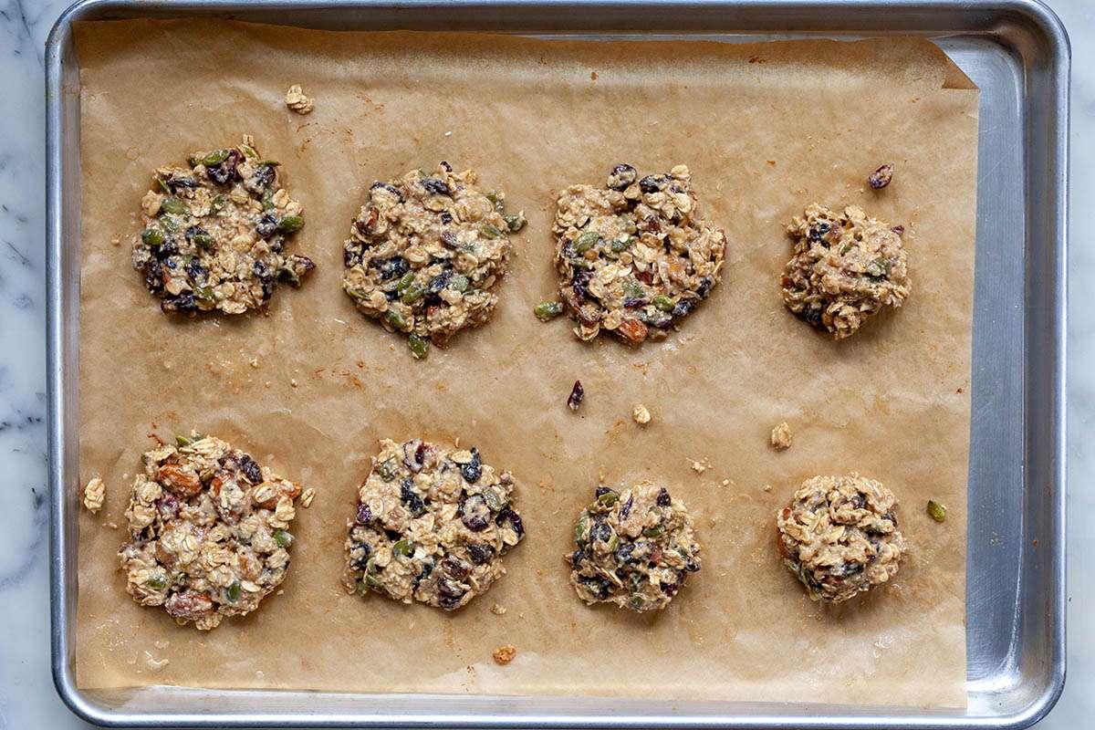 Oat and Tahini Breakfast Cookie