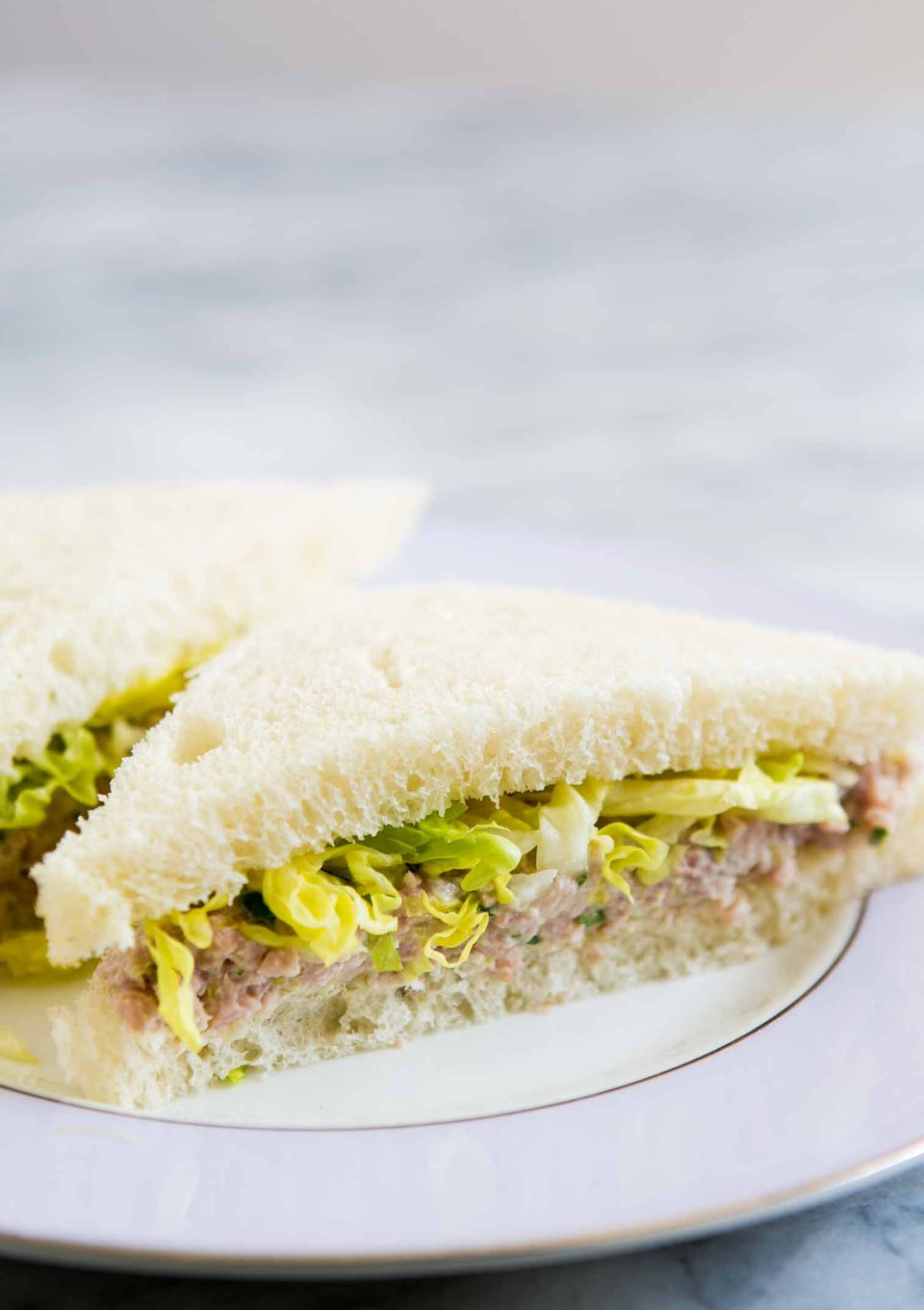 Deviled Ham Sandwich with Pickled Jalapenos