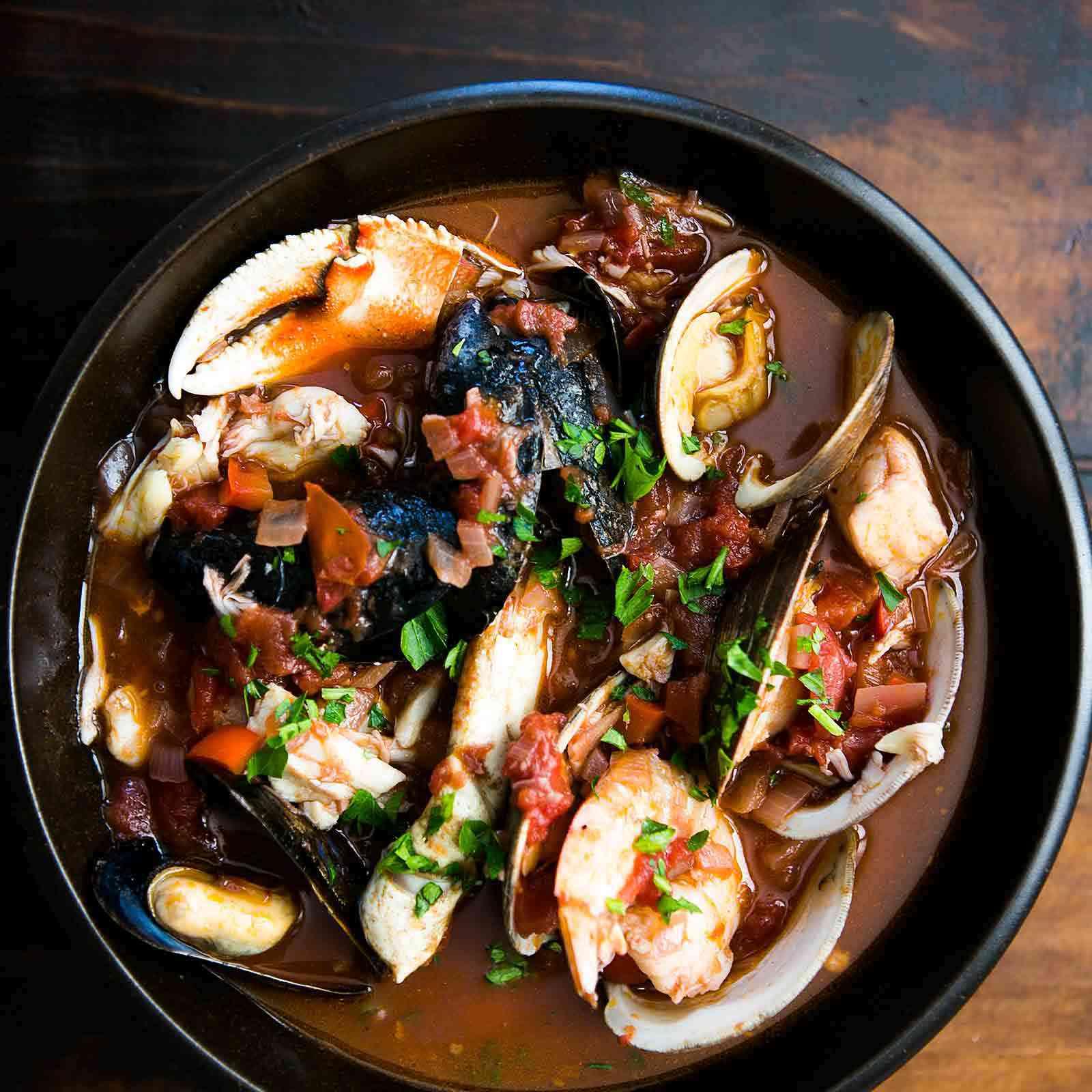 Authentic San Francisco Cioppino recipe
