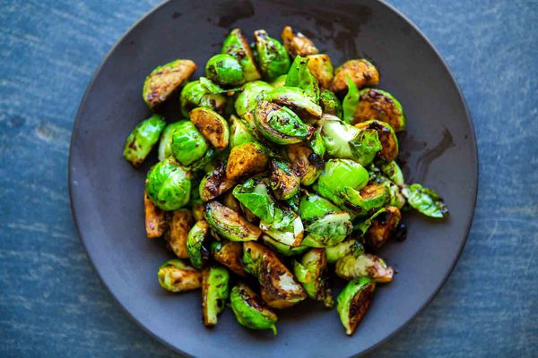 Brussels Sprouts with Black Bean Garlic Sauce