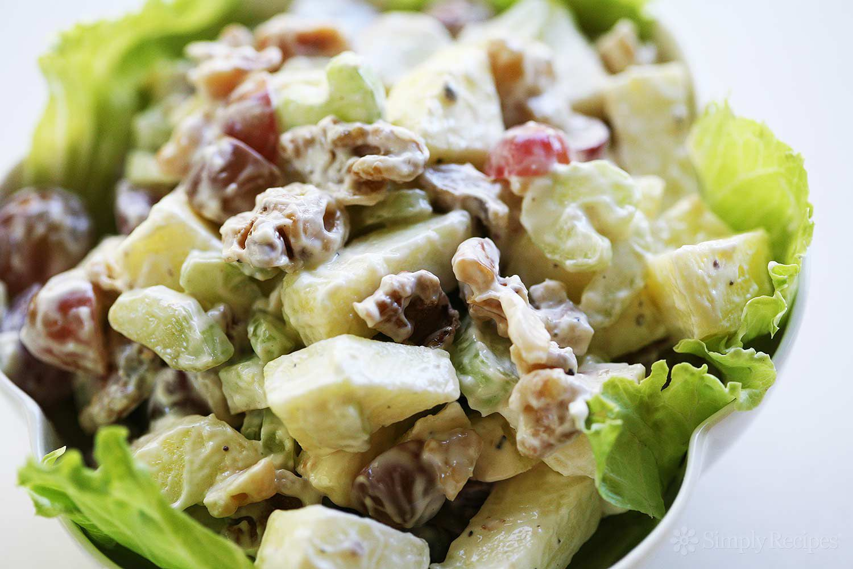 Waldorf Salad Recipe Vegetarian