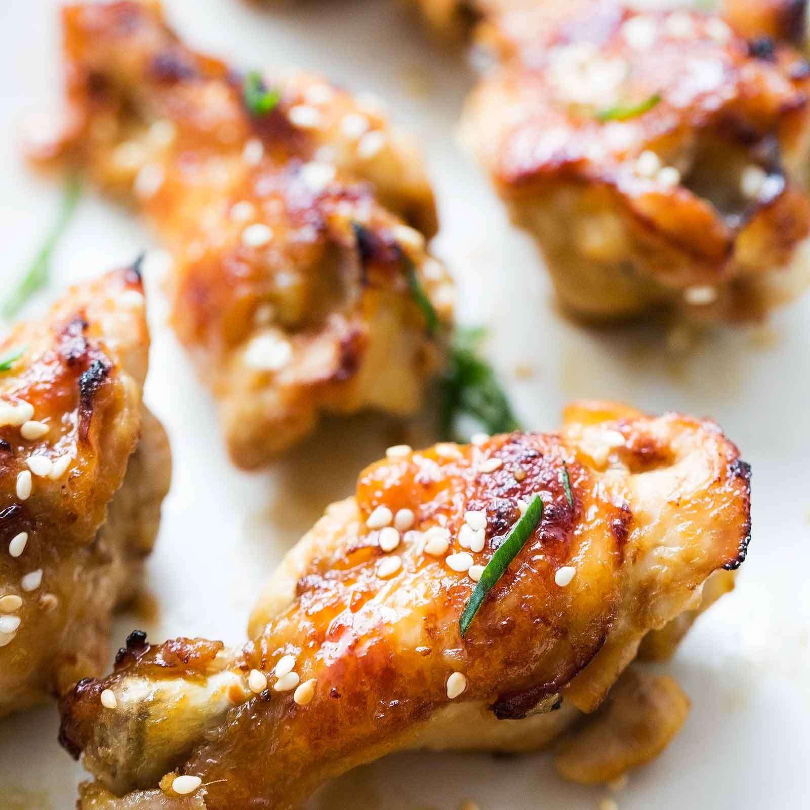 Ginger Honey Chicken Wings