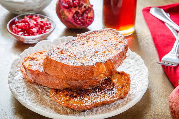 French Toast Recipe with Eggnog