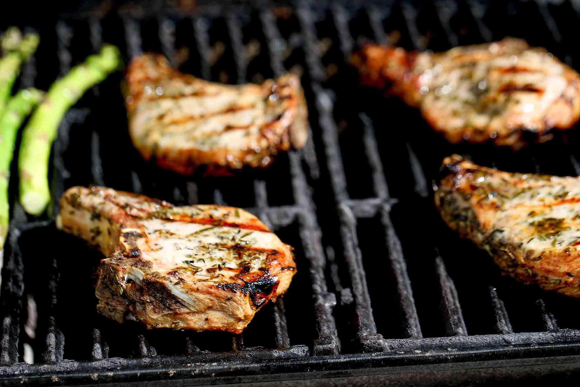 Sous Vide Grilled Pork Chops