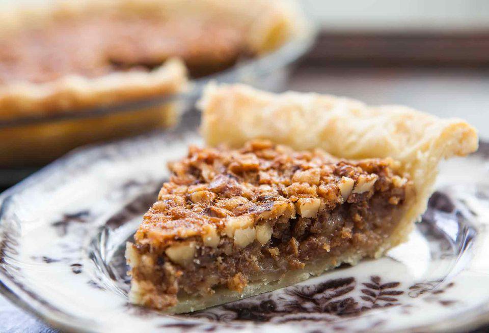 Walnut Maple Pie