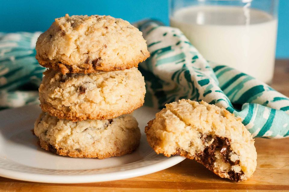 Coconut Chocolate Chip Cookies