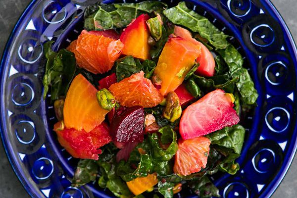 Beet Citrus Kale Salad