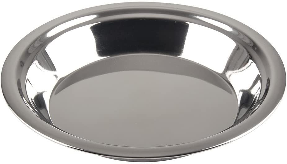 Lindy's Stainless Steel 9-Inch Pie Pan