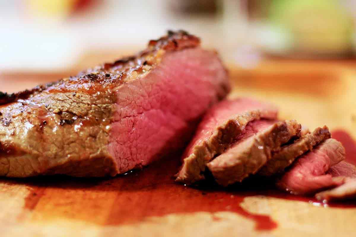 Sliced Tri Tip Steak