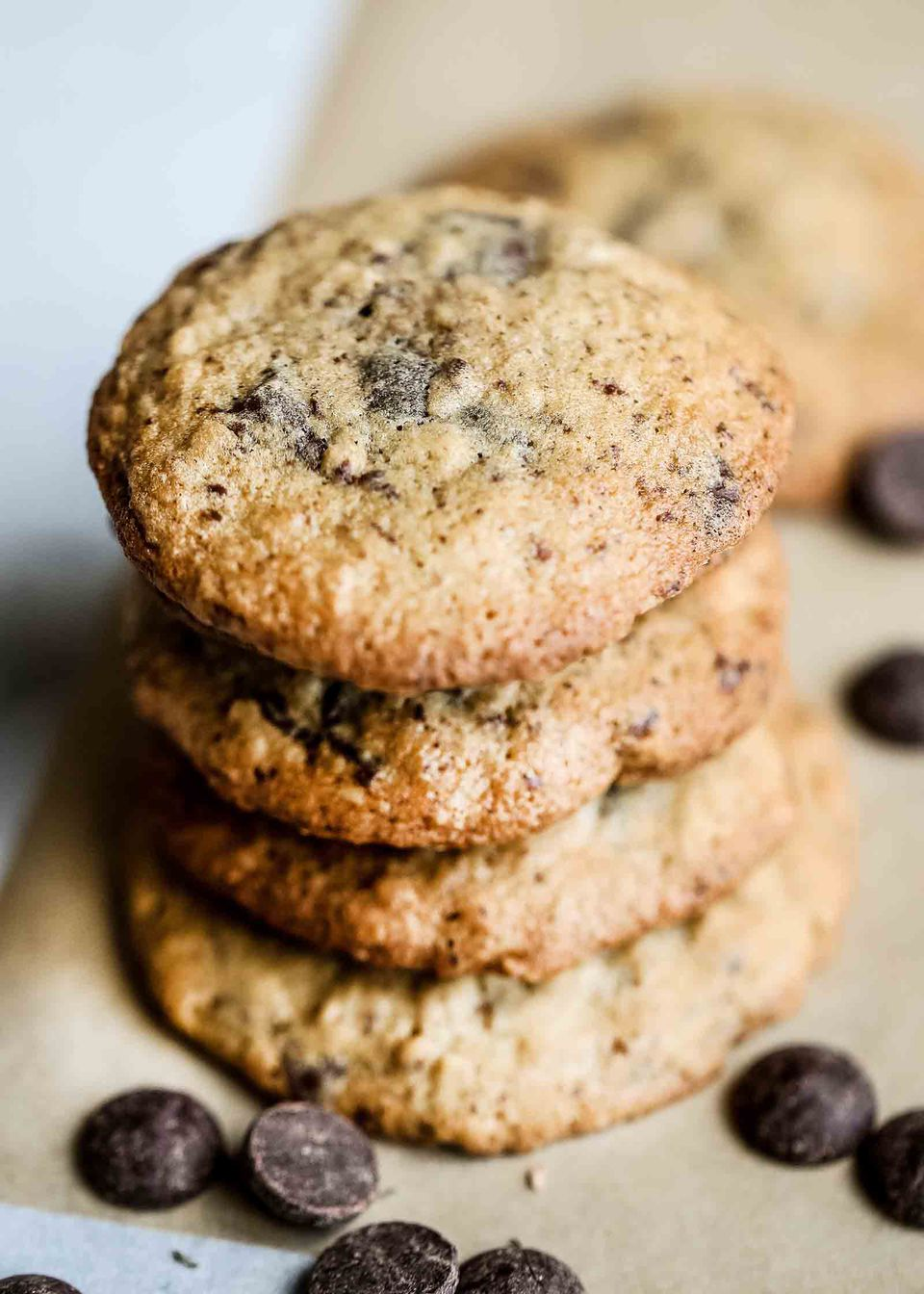 Gluten Free Chocolate Chip Cookies with Oats
