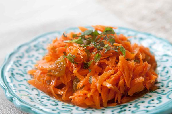 Orange Blossom Carrot Salad