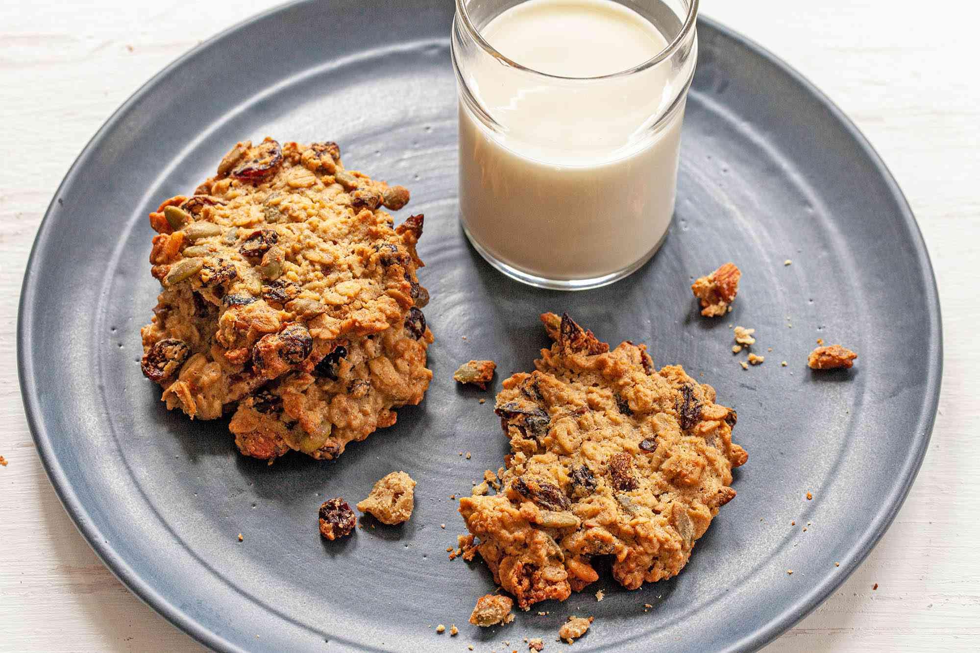 Tahini Breakfast Cookies