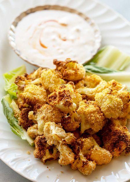 Air Fryer Crispy Cauliflower Recipe