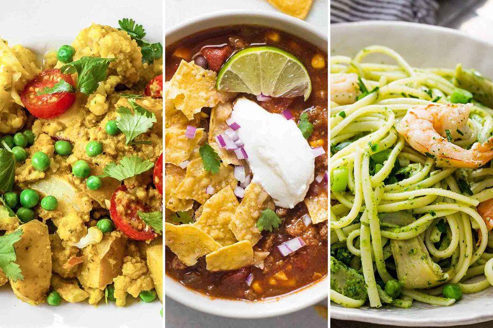 November Meal Plan Week 1