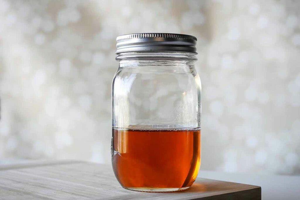 Bergamot earl gray mocktail drink syrup