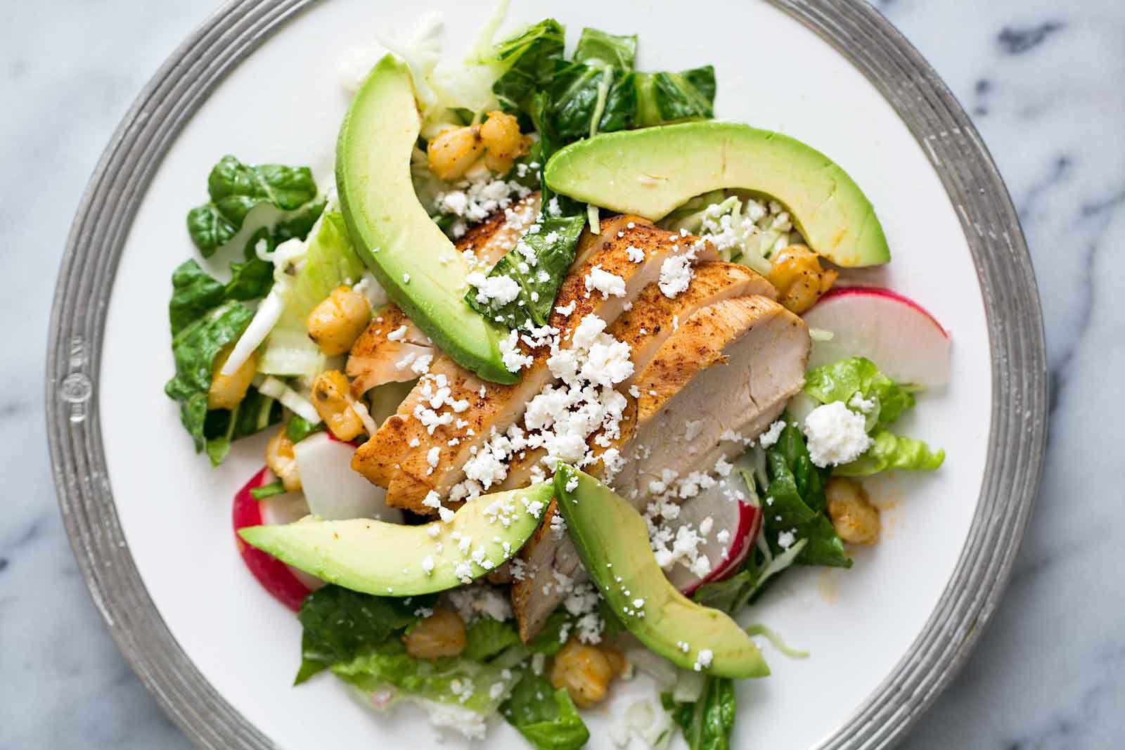 Chicken Posole Salad