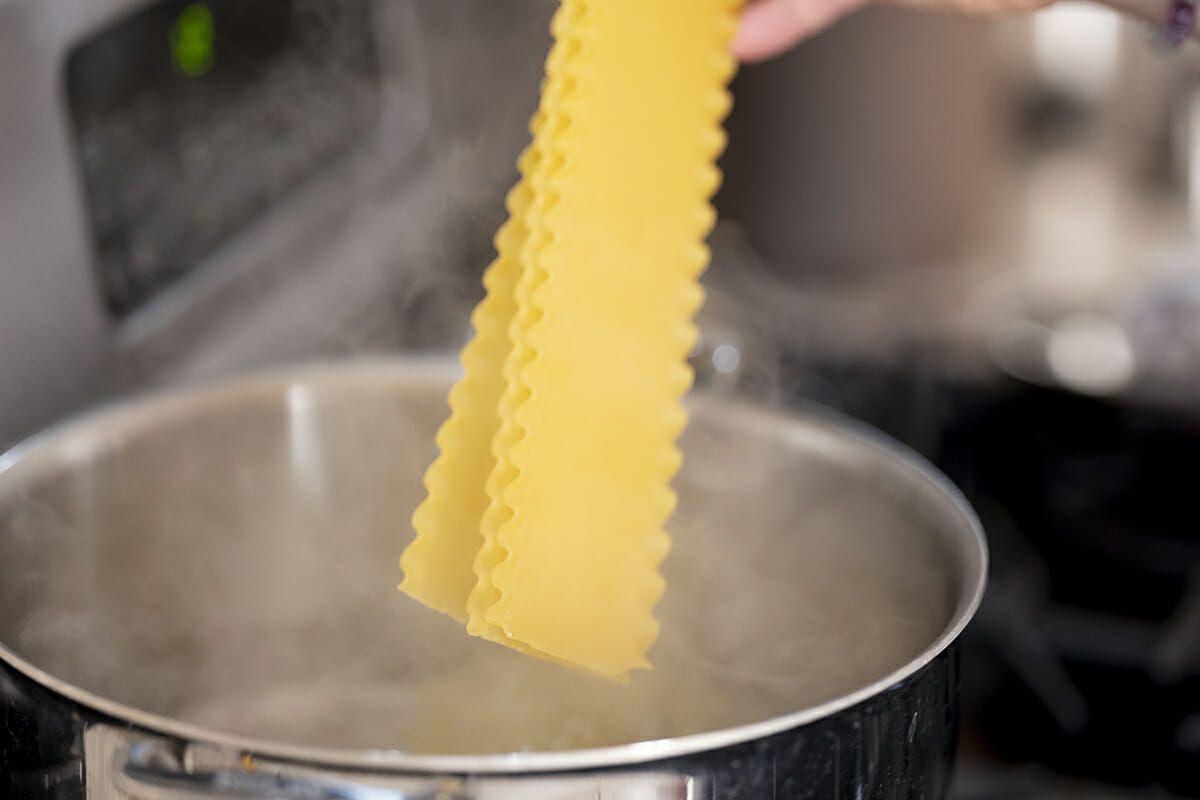 Summer vegetable lasagna recipe cook the noodles