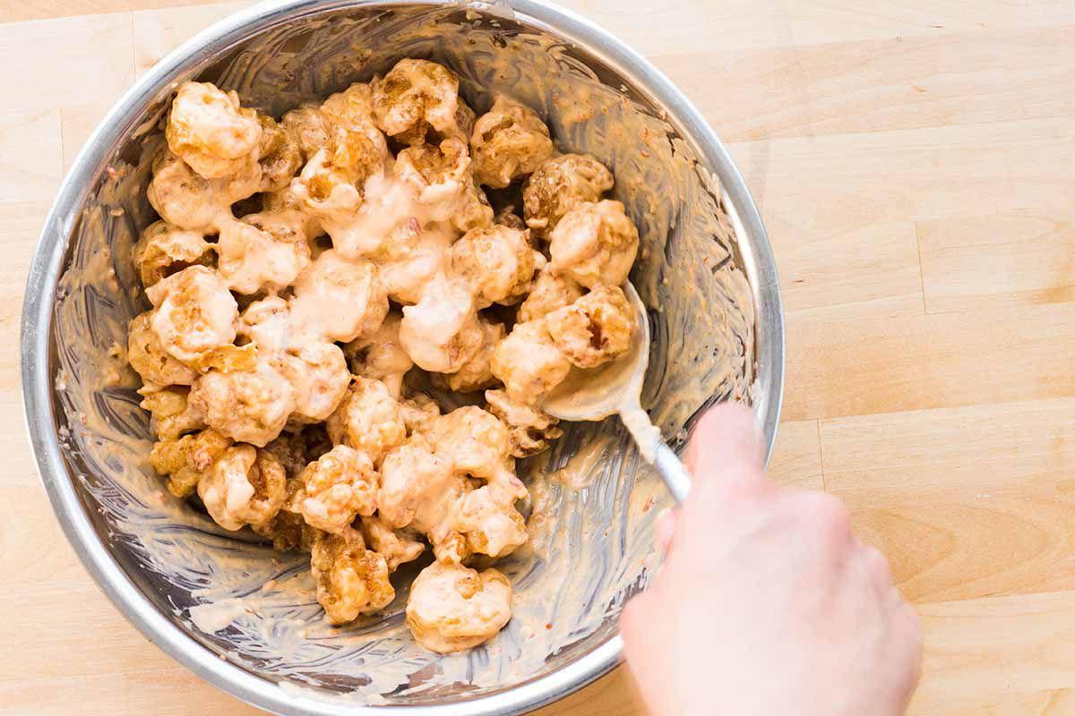 Bonefish Grill Bang Bang Shrimp Tacos Recipe marinate the shrimp