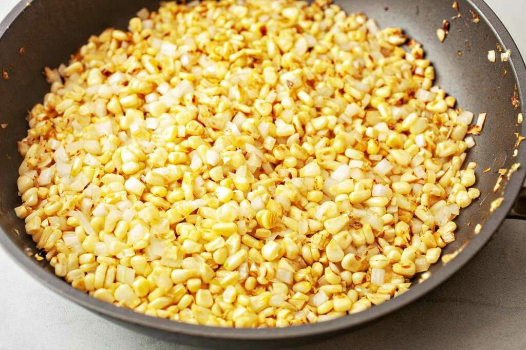 What Is Gnocchi? - corn in skillet