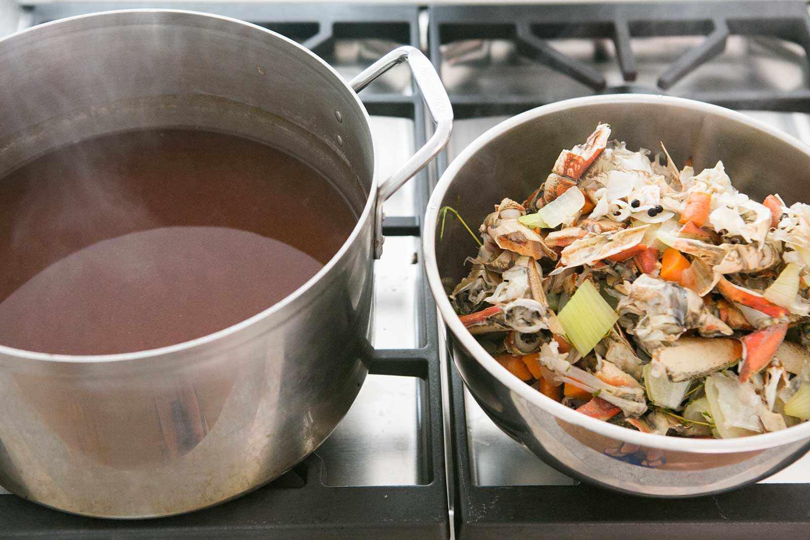 How to make shellfish stock