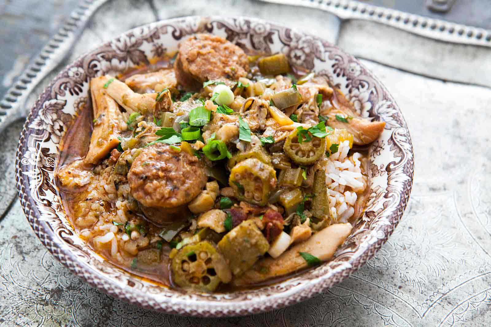 Chicken Gumbo with Sausage