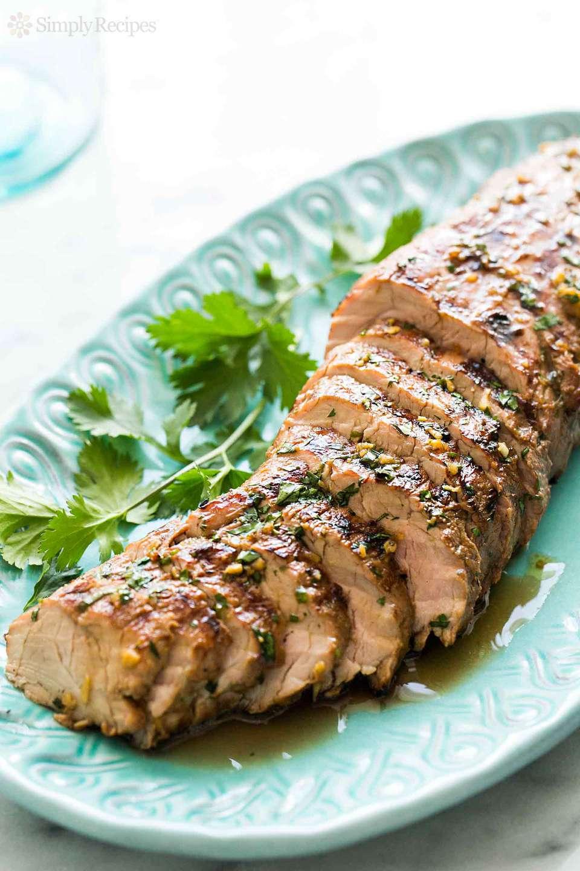 Grilled Ginger Sesame Pork Tenderloin