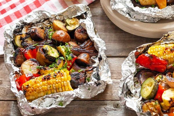 Grill Foil Packets Meal