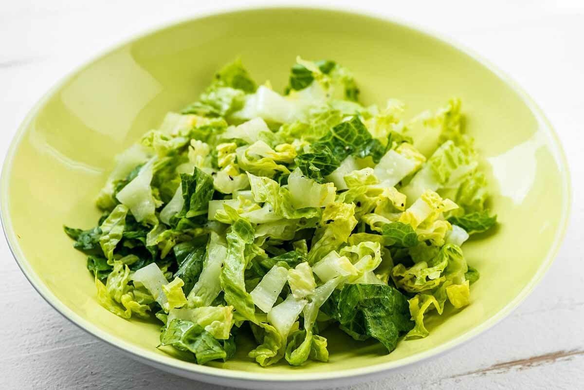 Fish taco bowl recipe toss the lettuce