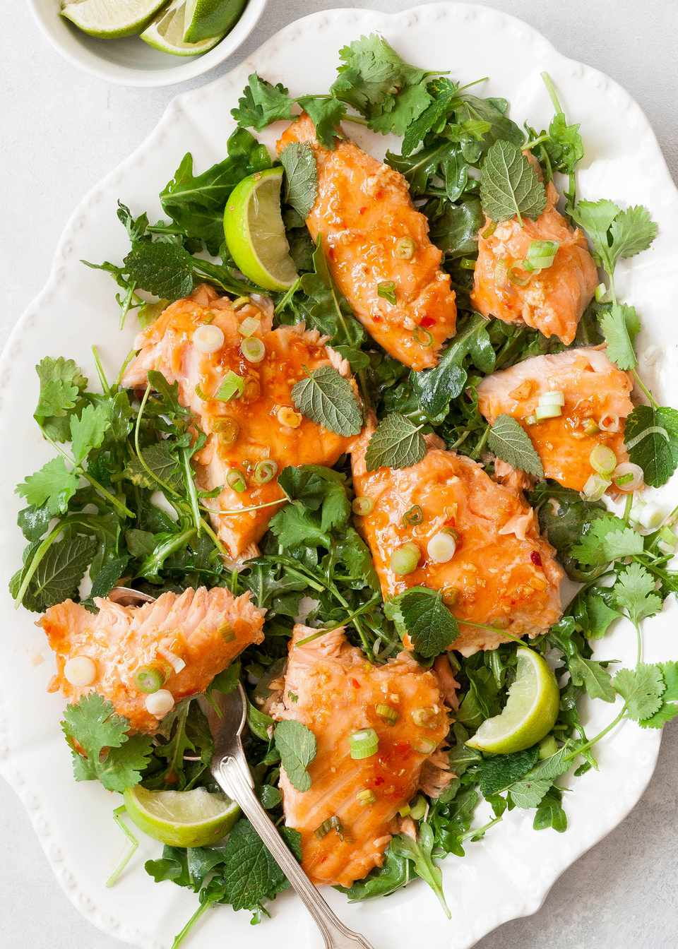 Slow-Roasted Salmon with Sweet Chili Glaze