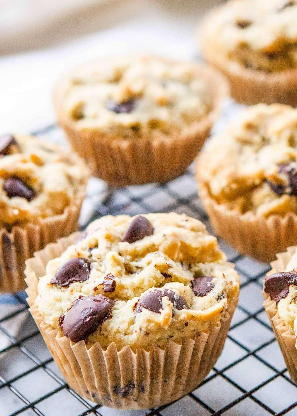 Chocolate Chip Muffins Gluten-Free