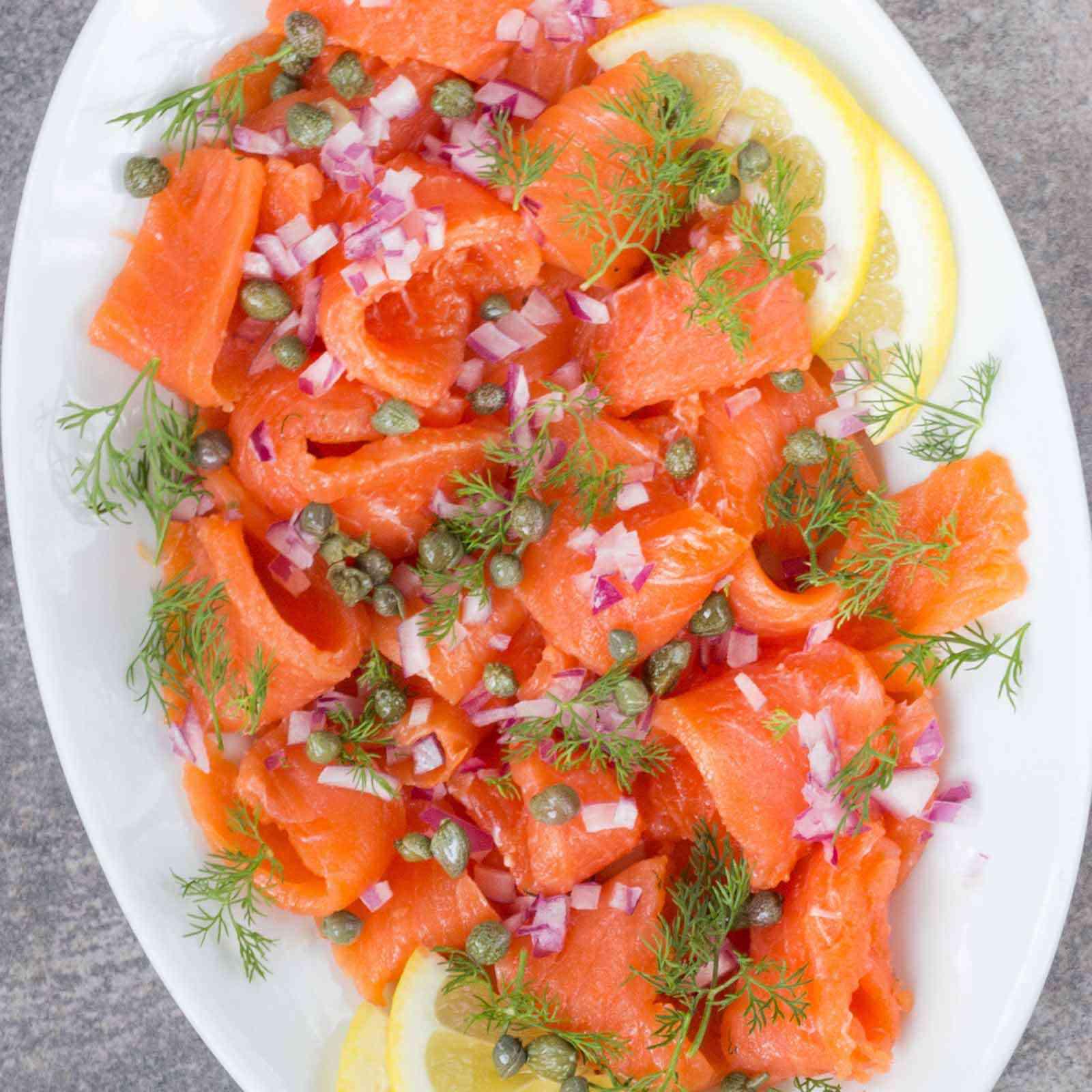 How to Make Salmon Gravlax