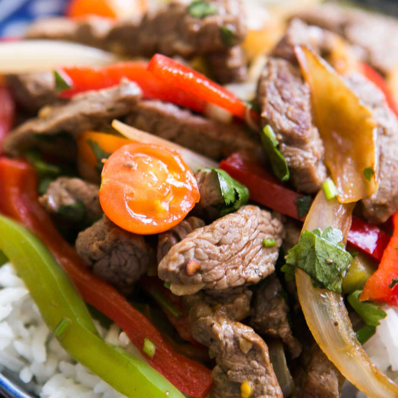 Quick Beef Stir Fry with Bell Peppers