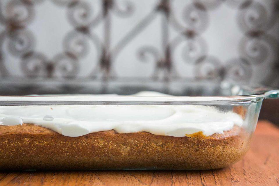 Banana Cake (Banana Sheet Cake)