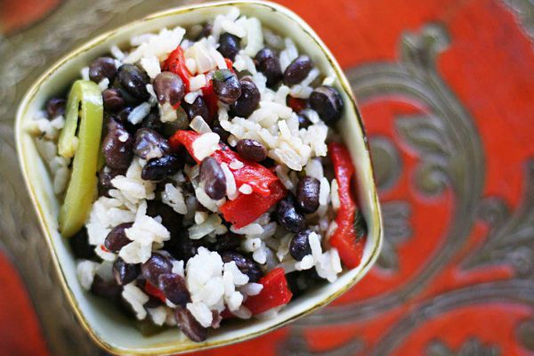 Easy Black Beans and Rice