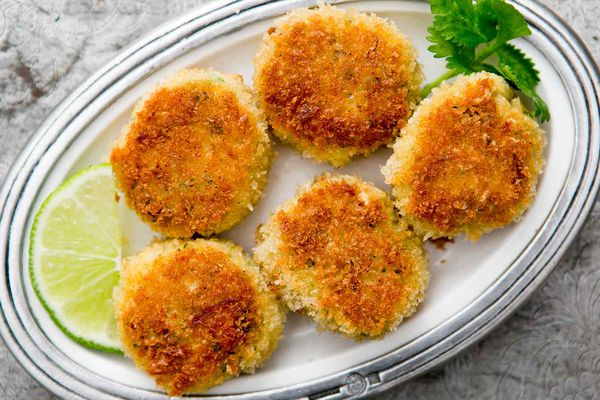 Crab Cakes with Ginger and Lime