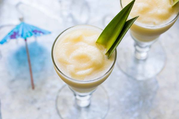 How to Make Pina Colada in a blender with less ice