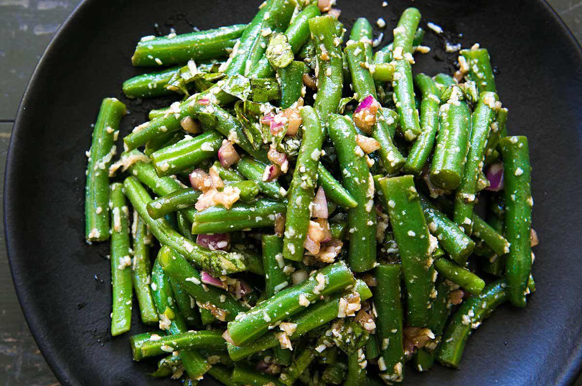 Green Bean Salad Dressing Recipe