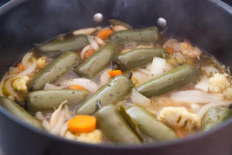 canning jalapenos or escabeche