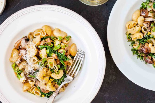Spinach Pasta with Brown Butter
