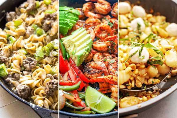 10 Skillet Dinners